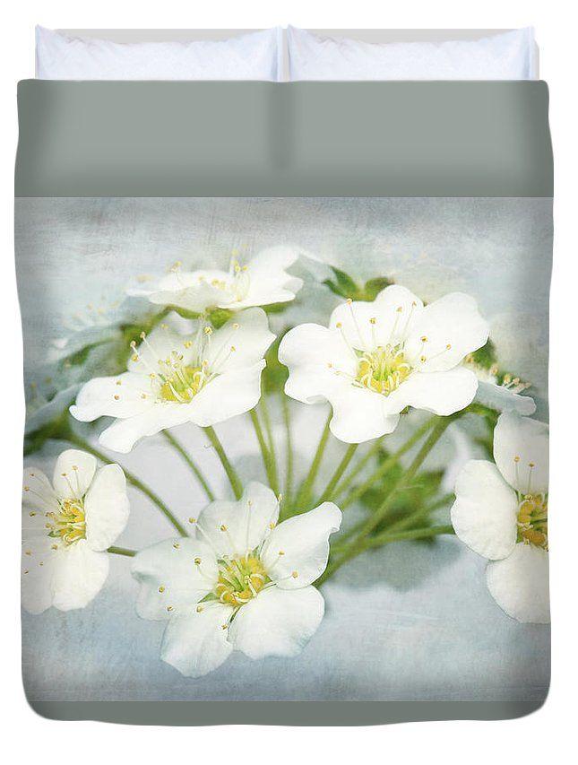White Wonders Duvet Cover by Larysa Koryakina