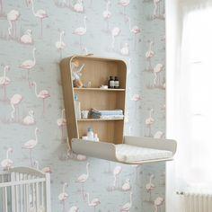 Elegant Original Charlie Crane Noga Wickeltisch klappbar wei online kaufen Wandwickeltisch aus Holz