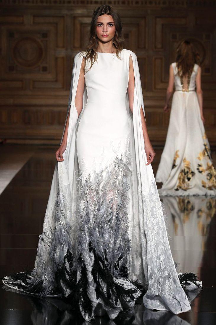 Лучшие подвенечные платья Недели высокой моды в Париже   Мода   Выбор VOGUE   VOGUE