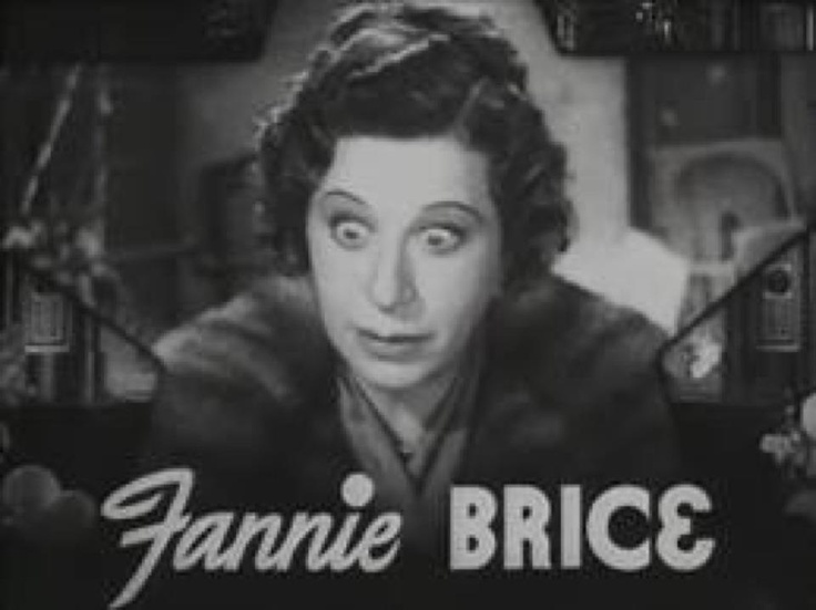 49 Best Fanny Brice Images On Pinterest  Funny Girls -6836
