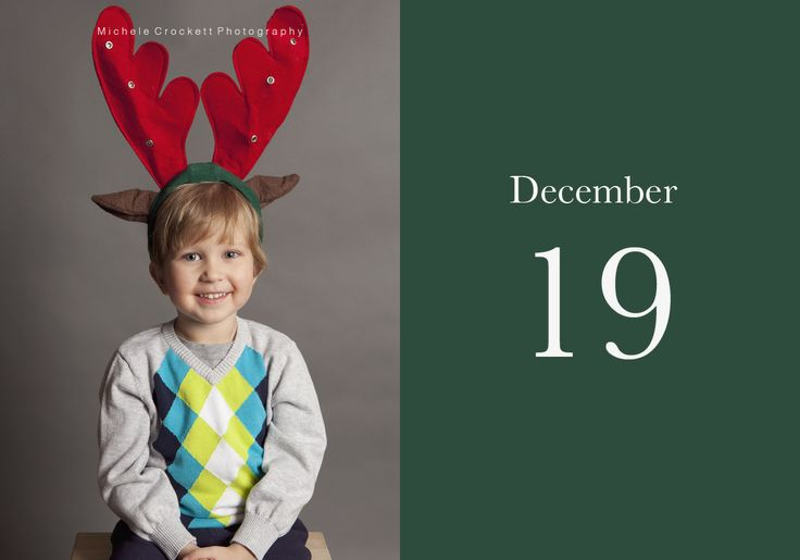Dec 19-  www.michelecrockettphotography.com #christmascountdown #kidschristmasideas, #kidsportraits, #childrenschristmas, #redandgreen, #childrenspotoideas,
