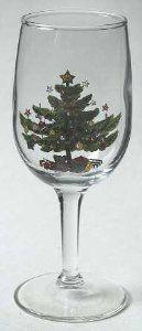 Nikko Happy Holidays 6 Oz Glassware Wine, Fine China Dinnerware by Nikko. $19.99. Nikko - Nikko Happy Holidays 6 Oz Glassware Wine - Christmas Tree W/Stars&Presents,Swirled