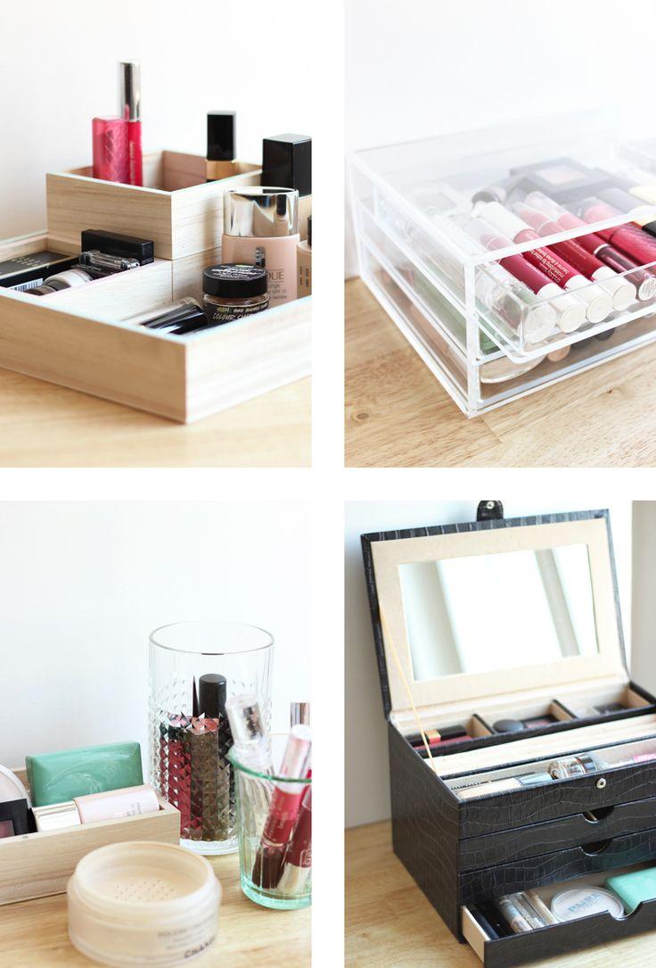 4 Ways to Store Make up