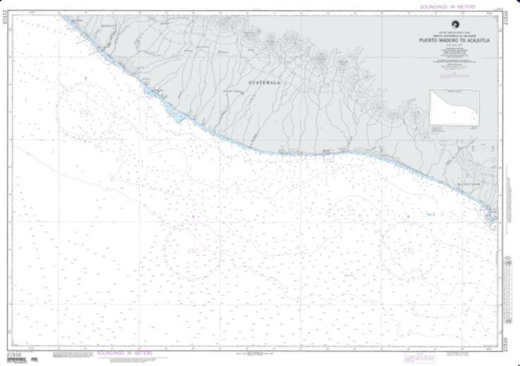 Puerto Madero To Acajutla, Guatemala (NGA-21510-1) by National Geospatial-Intelligence Agency