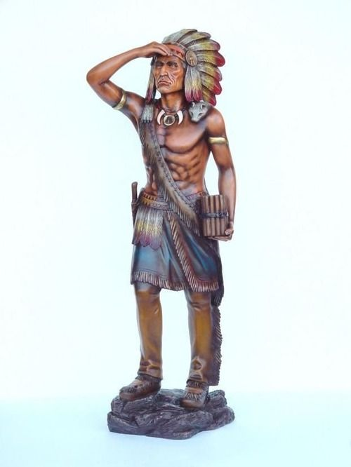 Indian Tobacco Cigar Store Statue