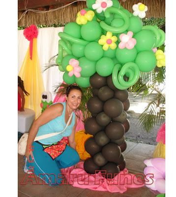 42 best mis decoraciones de fiesta infantil images on for Decoracion para jardin