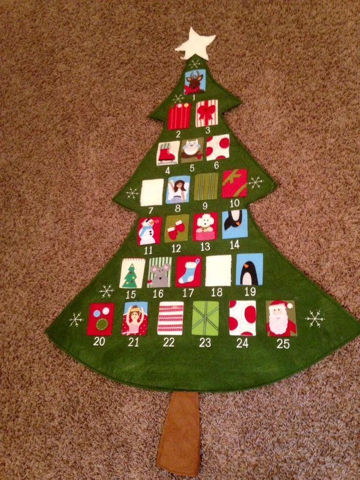 Nwot Pottery Barn Kids Telluride Christmas Tree Advent