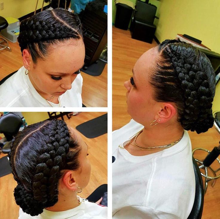 Love these double braids @gazagirl00 - https://blackhairinformation.com/hairstyle-gallery/love-double-braids-gazagirl00/