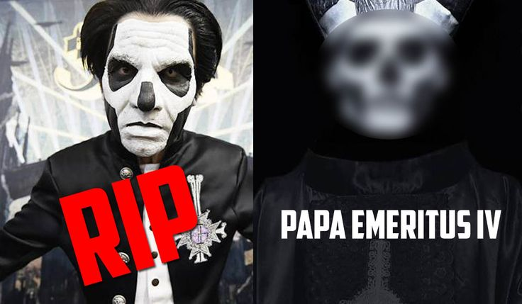 Rest In Peace Papa Emeritus III: Ghost Tells Fans To Prepare For Papa Emeritus IV