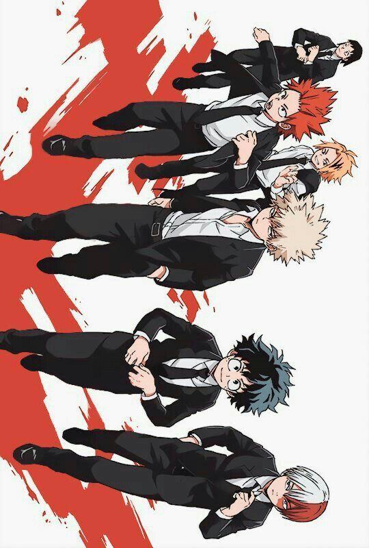 My Hero Academia The Boys Academia Arte Delle Anime Disegni Di Anime Illustrazione Manga