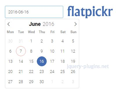flatpickr – Lightweight & Powerful Datetimepicker #calendar #date #timepicker #datepicker #datetimepicker #javascript #flat #lightweight #powerful