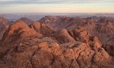 Pilgrims have been visiting Saint Catherine in Egypt since the fourth century.  It is a 6th century monastery situated in the middle of the Sinai Peninsula near Mount Sinai.