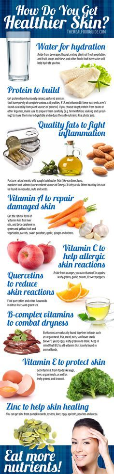 How to get clear skin: vitamins for healthy skin