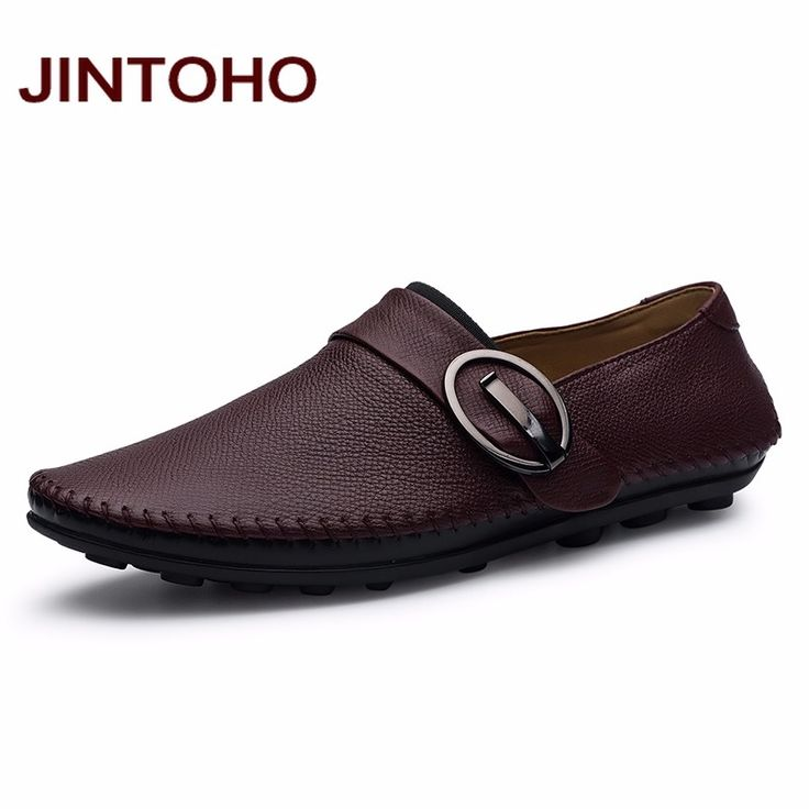 JINTOHO Genuine Leather Male Shoes Fashion Breathable Men Leather Shoes Luxury Brand Designer Shoes Handmade Leather Footwear. Click visit to buy