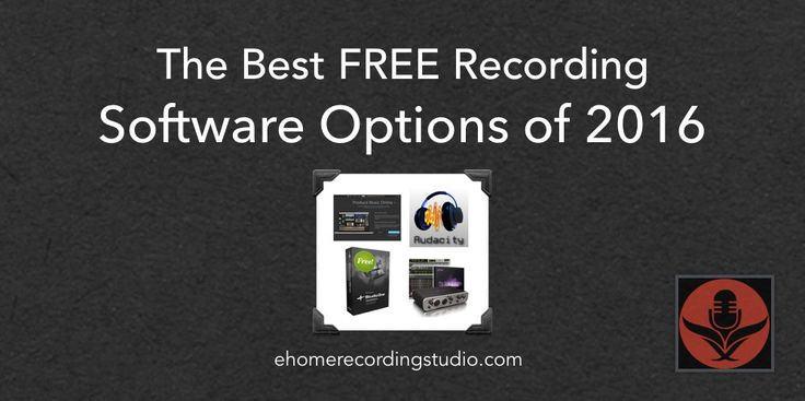 Looking for the best free recording studio software options? In this post I reveal the best solutions currently on the market.