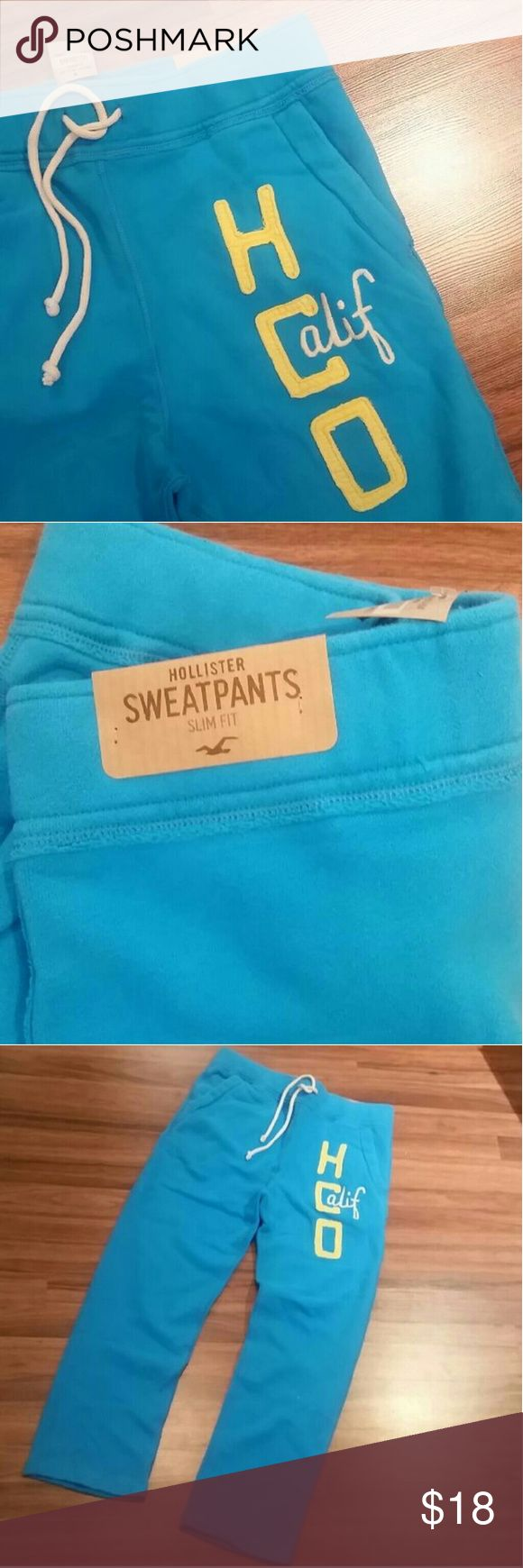 New hollister Sweatpants for men New with tag Slim fit Hollister Pants Sweatpants & Joggers