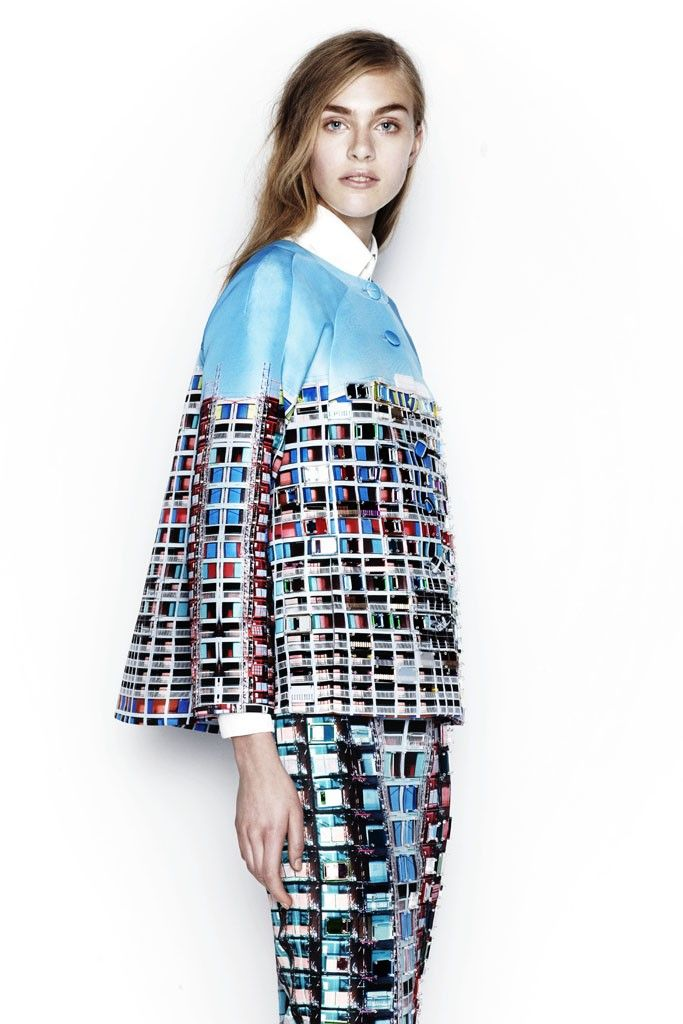 Mary Katrantzou Resort 2014 - Slideshow - Runway, Fashion Week, Reviews and Slideshows - WWD.com