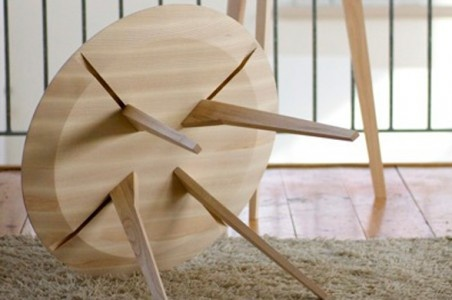 The spot side table by Staffan Holm