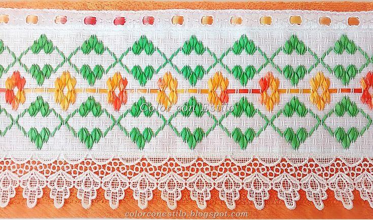 Toalla+naranja+con+vagonite+bordado+naranja+con+verde.jpg (1600×947)