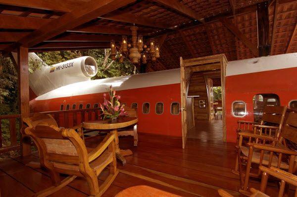 Aeroplane-house-hotel