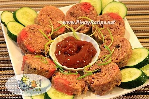 Embutido Recipe or Pinoy Meatloaf