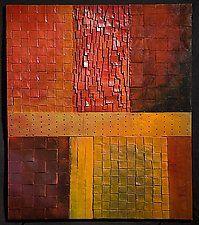 "Fall Twilight by David Paul Bacharach (Metal Wall Sculpture) (28"" x 24"")"