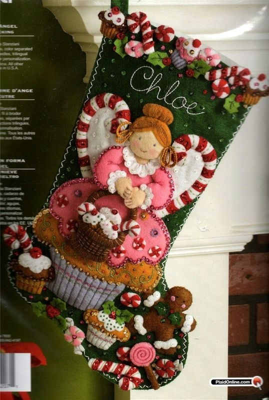 Stockings, i have to make these for my girls... it's a must
