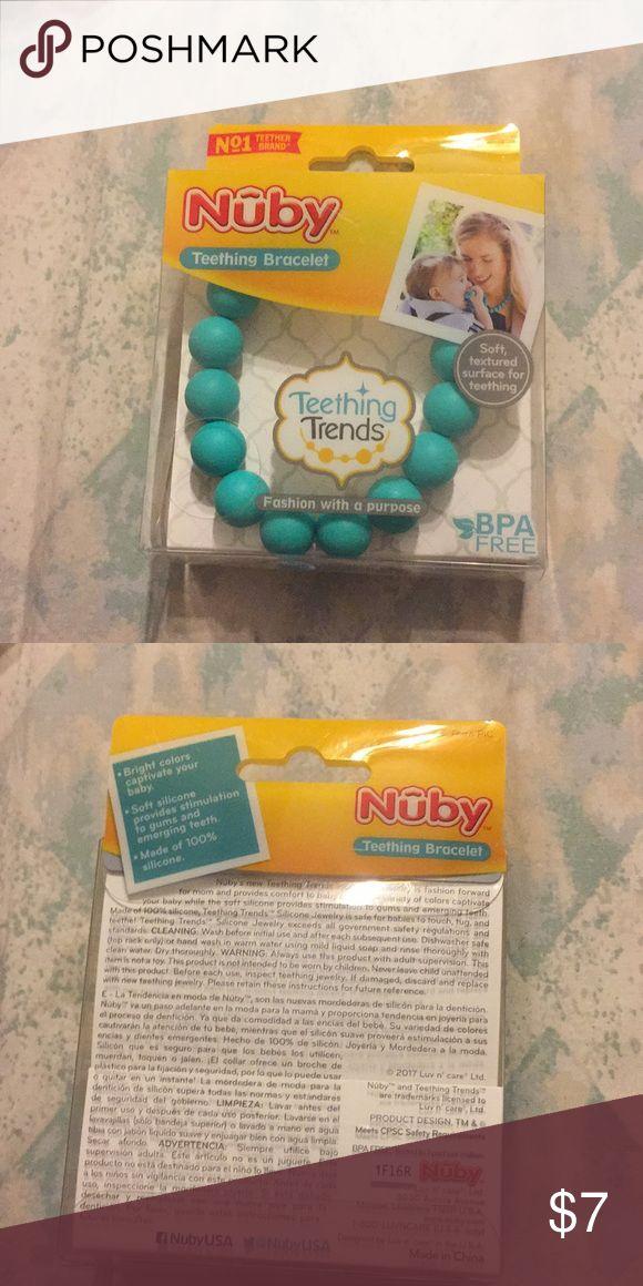 Nuby teething bracelet new in box Nuby teething bracelet new in box Nuby Accessories Jewelry #accessoriesjewelry