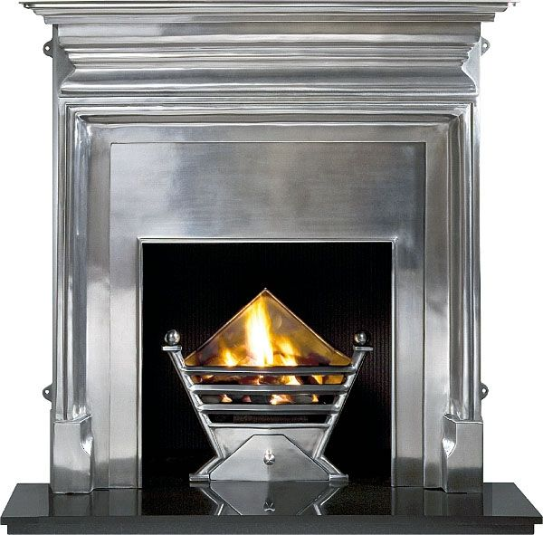 Art Deco | Art Deco Polished (gas) | The Fireplace in East Lothian, Fireplaces in ...