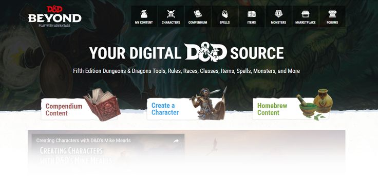 D&D Beyond Launches Today, Bringing Players Digital D&D 5E Content and Powerful Tools - News - https://www.musicnation.site/dd-beyond-launches-today-bringing-players-digital-dd-5e-content-and-powerful-tools-news/