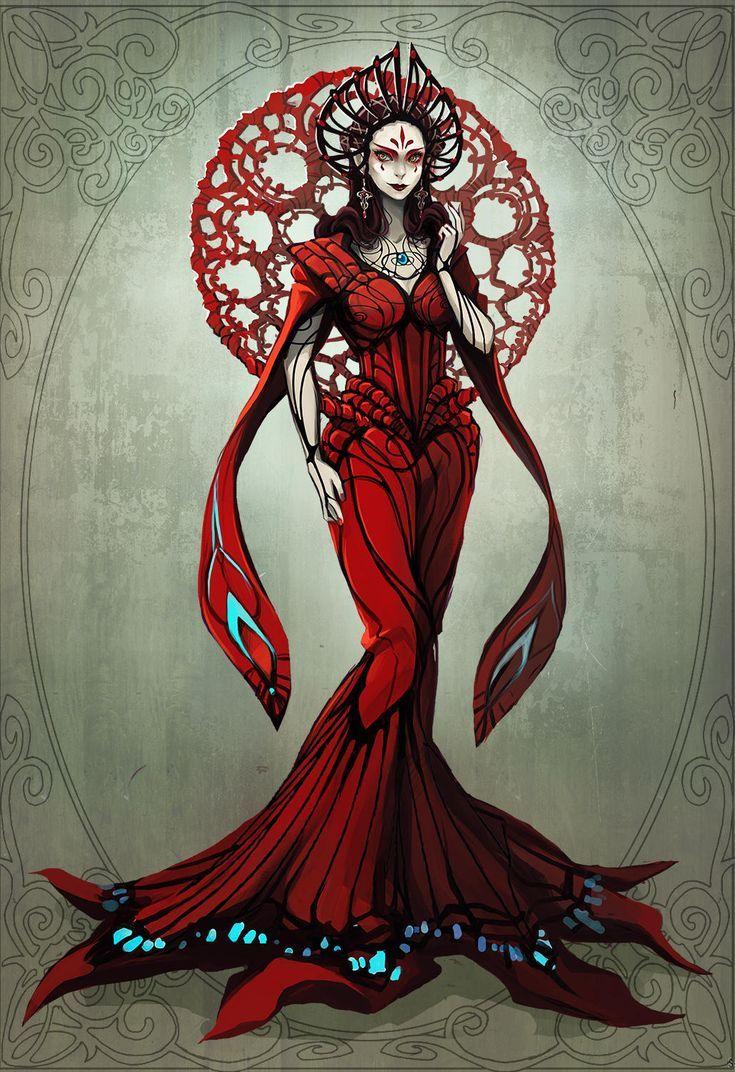 Evil Queen By Radittz In 2019 Queen Drawing Character Art