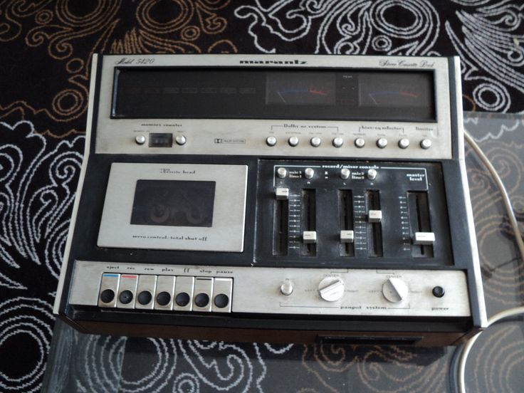 MARANTZ 5420 cassette mixer | eBay