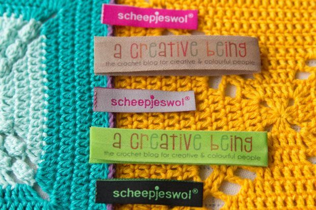 scheepjes cal 2014 – free tutorial: make your own label!