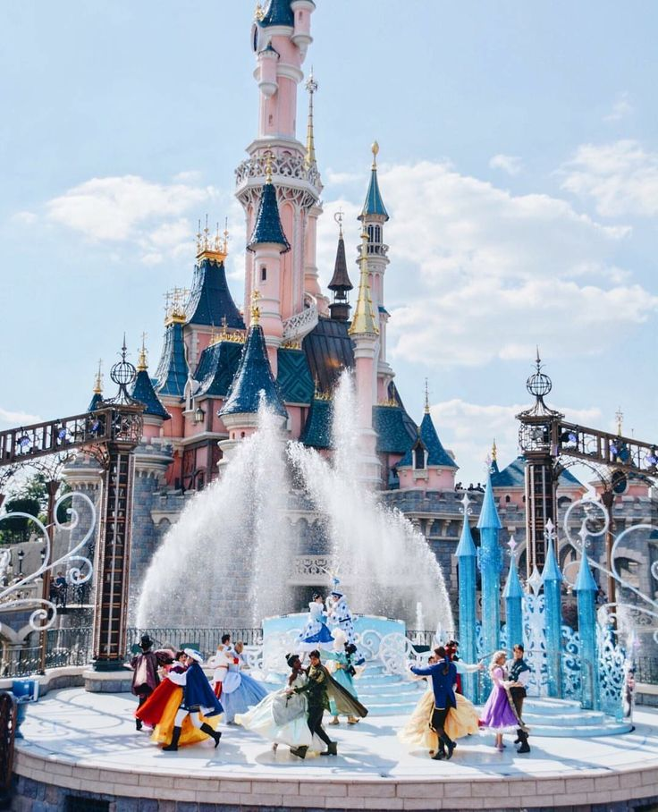 25th Anniversary at Disneyland Paris