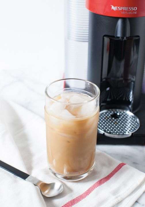 A touch of sweetened condensed milk is the key to this simple, yet delicious iced coffee recipe. Make it with your favorite Nespresso Grand Cru and enjoy this cool and creamy treat all summer long!