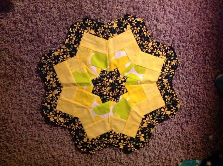 How to Sew a Quilted Flower