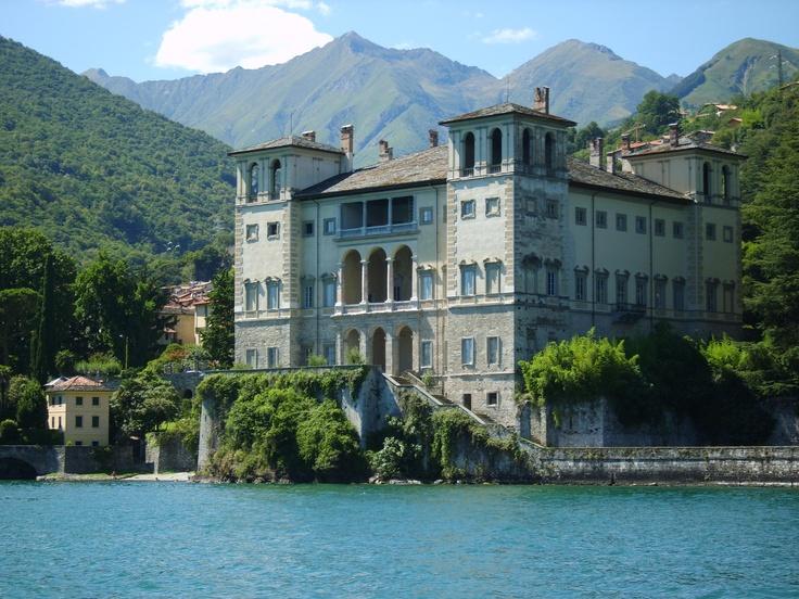 Palazzo gallio gravedona lake como my home in italy for Lake house in italian