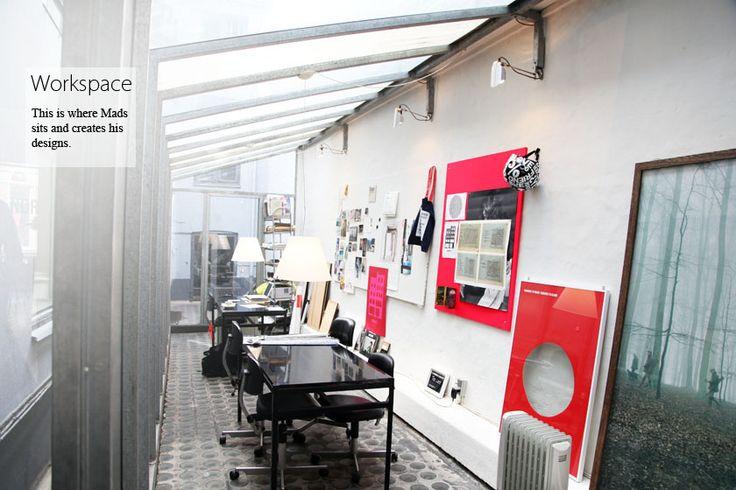 From the designer Mads Nørgaard's studio.