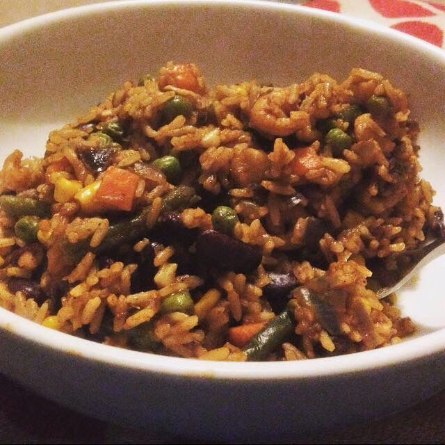 Louisiana Red Bean Rice  (EE free) #SlimmingWorld