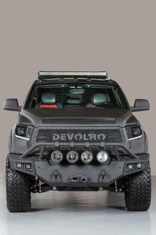 2015 TOYOTA DEVOLRO DIABLO. LINE-X BLACK EDITION . 650 HP. Via Devolro