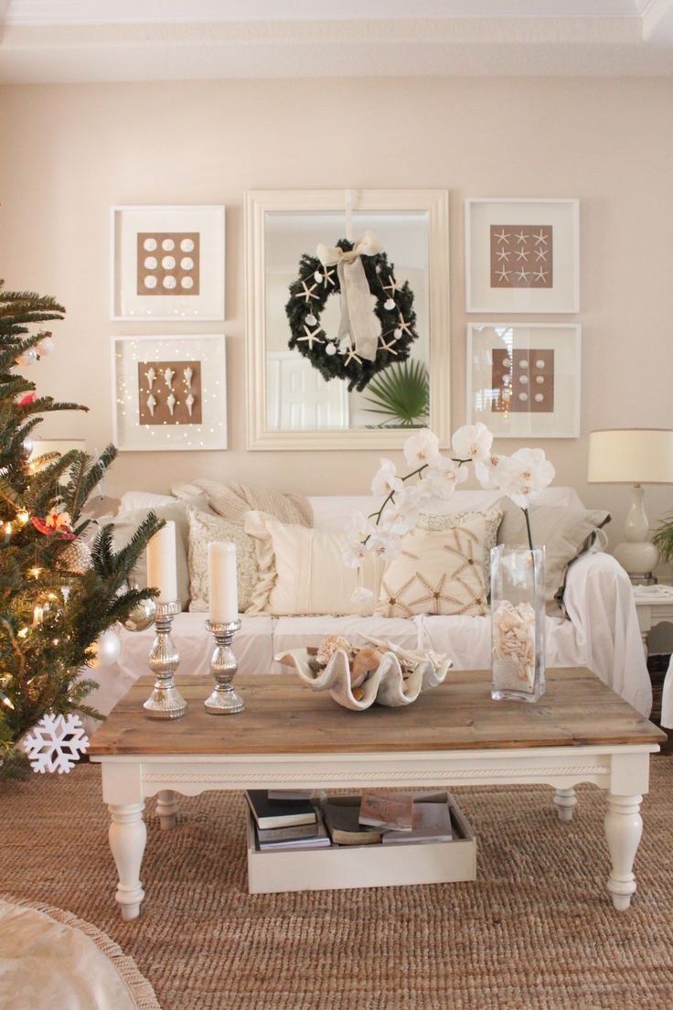 Christmas at Starfish Cottage | The Living/Dining Room | Starfish Cottage