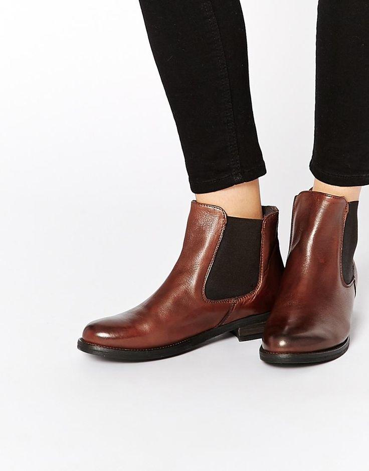 ALDO   ALDO Toole Tan Flat Chelsea Boots at ASOS