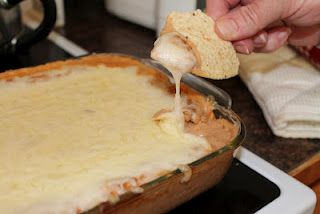 Everyone asks me what is in the dip I bring to parties, so here's the recipe for the BEST party dip EVER!! :)
