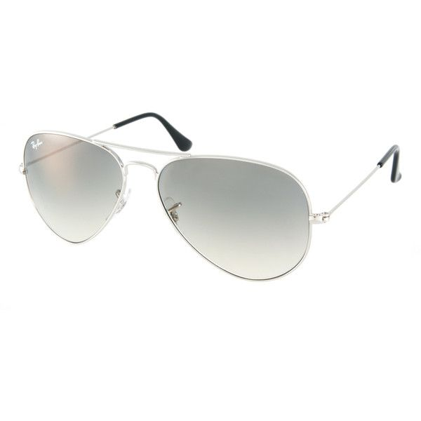 Ray-Ban Large Aviator Sunglasses found on Polyvore