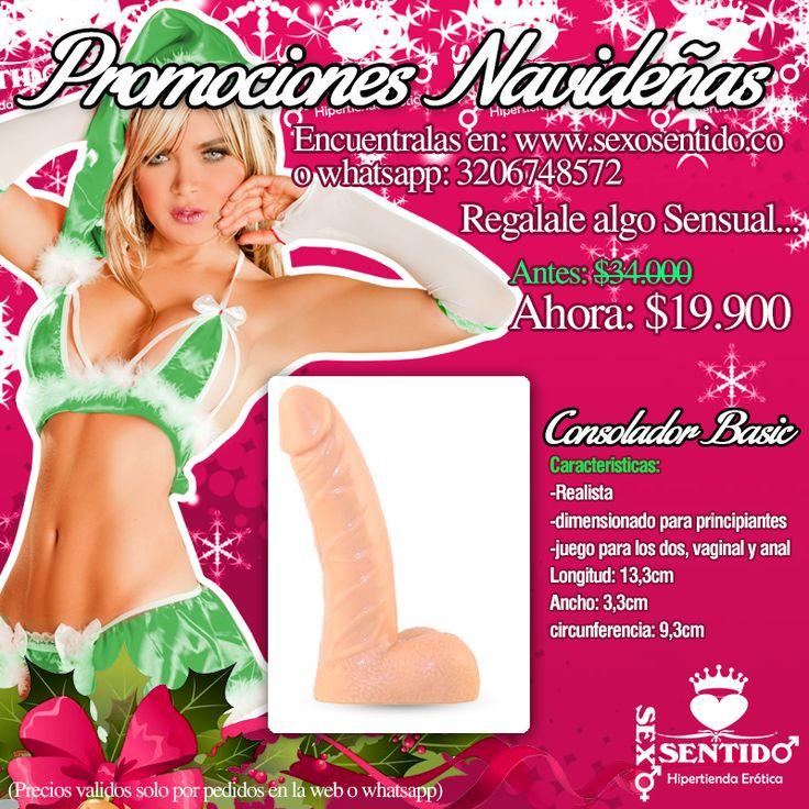 Llegan con las promociones navideñas nuevas ideas para regalar a tu pareja en este mes tan especial!, no te pierdas nuestros precios especiales para que puedas tener ese juguete que tanto quieres!, envíos a toda Colombia http://sexosentido.co/tienda/884-promociones-navidenas (precios validos solo por compras en la web whatsapp: 3206748572)