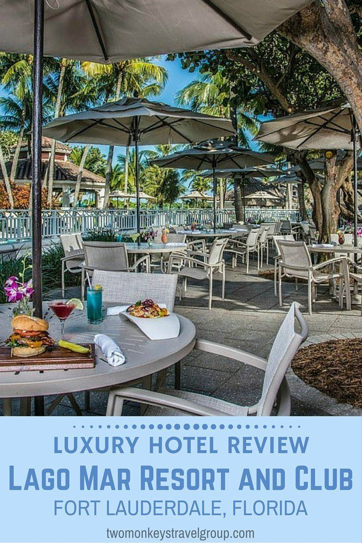 Luxury Hotel Review – Lago Mar Resort and Club, Fort Lauderdale, Florida. Our suite in Lago Mar Resort and Club was a spacious, entering into a kitchenette, dining and living room area, at the end of which the sliding glass doors opened up onto the sea-view balcony, flooding the room with natural light and fresh sea air