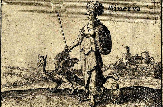 Wenceslas_Hollar _-_ The_Greek_god_Minerva