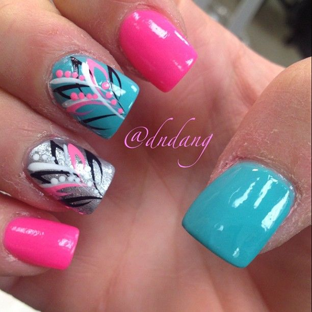 315 best Nail Art- Abstract images on Pinterest | Nail scissors ...