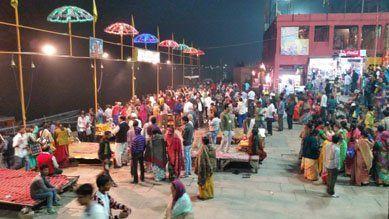 Start of my travel around the world in Varanasi, India !