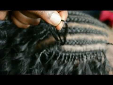 How to do Crochet Braids (Latch/Hook Hair) | Tutorial  She did that..Must watch